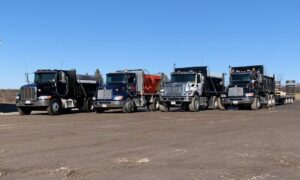 Town & Country Commercial Property Maintenance Snow hauling trucks