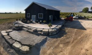 Town & Country Hardscaping stone work