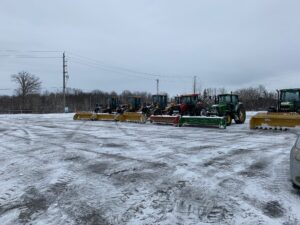 Town & Country snow removal fleet